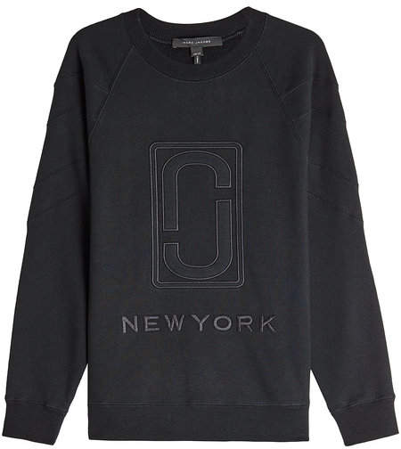 Marc Jacobs Embroidered Cotton Sweatshirt