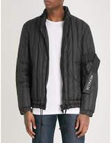 Moncler x Craig Green hooded shell-down jacket