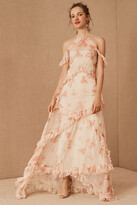 Thumbnail for your product : BHLDN Therese Floral Maxi Dress By in Pink Size 16