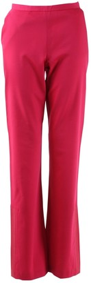 Christian Lacroix Red Wool Trousers for Women