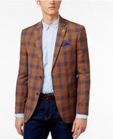 Ben Sherman Men's Slim-Fit Plaid Sport Coat