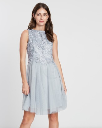 Dorothy Perkins Heavy Lace Sequin Prom Dress