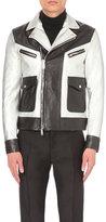 Dsquared2 Kiodo Leather Biker Jacket