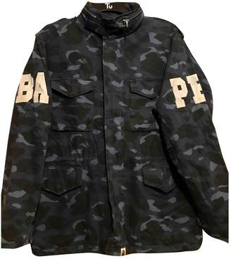 A Bathing Ape Blue Cotton Jackets