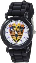 Marvel Boy's 'Guardian' Quartz Plastic and Silicone Casual Watch, Color: (Model: WMA000145)