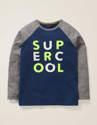 Boden Slogan Raglan T-Shirt