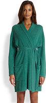 Saks Fifth Avenue Short Cashmere Robe