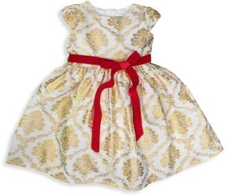 Joe Ella Little Girl's & Girl's Printed Cap-Sleeve Dress