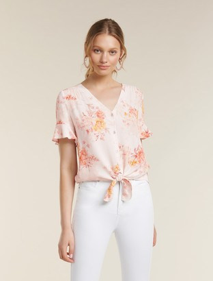 Ever New Spencer Flutter Sleeve Top