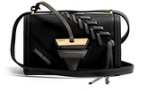 Loewe Barcelona small laced leather cross-body bag