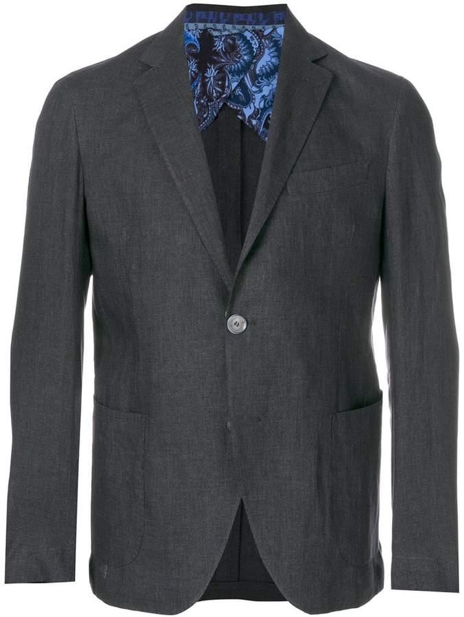 Etro classic loose jacket