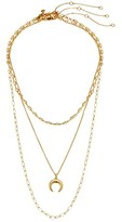 Madewell Mixed Link Necklace Short (Vintage Gold) Necklace