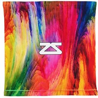 Zensah Limited Edition Mini Neck Gaiter Face Cover (Color Explosion) Scarves