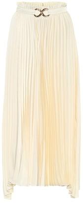 REJINA PYO Asymmetric pleated midi skirt