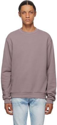 John Elliott Purple Beach Crew Sweatshirt