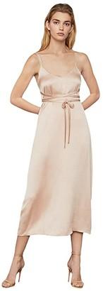 BCBGMAXAZRIA Midi Dress (Bare Pink) Women's Clothing