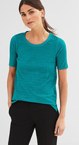 Esprit Shimmering top w all-over pleats