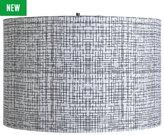 Collection Mono Woven Fabric Shade - Black & White