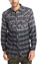 Burnside Men's Duck Dip Dye Flannel Shirt