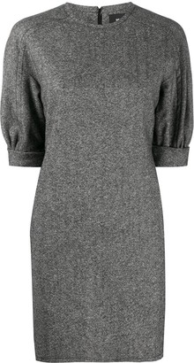 DSQUARED2 Puff-Sleeved Mini Shift Dress