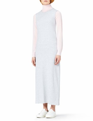 Meraki Amazon Brand Women's Summer T-Shirt Maxi Dress