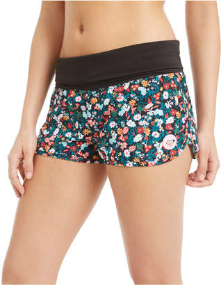 Roxy Juniors' Bouquet Printed Endless Summer Board Shorts Women Swimsuit