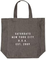 Surdays NYC Tote Bag AA00TOTE-03-S0700 Grey Denim