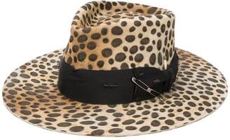 Nick Fouquet Lynx leopard-print hat