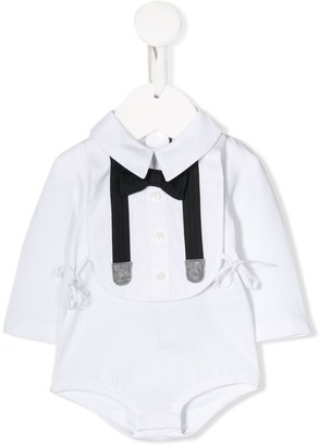 Dolce & Gabbana shirt bow tie bodysuit
