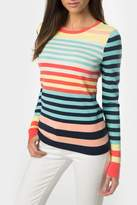 525 America Rainbow Stripe Crewneck