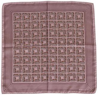 One Kings Lane Vintage Louis Vuitton Silk Lilac Print Scarf - Vintage Lux