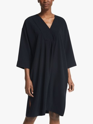 KIN Kimono Crossover Kimono Dress, Black