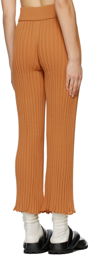 Thumbnail for your product : RUS SSENSE Exclusive Tan Ombre Lounge Pants