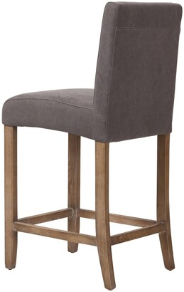 Design Tree Home James Counter Stool in Frost Grey