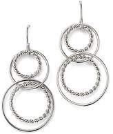 Bloomingdale's Sterling Silver Twisted Circle Drop Earrings - 100% Exclusive
