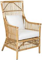 Tucker East At Main Rattan Occasional Living Room Accent Chair