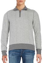 Michael Kors Textured Quarter-Zip Sweater