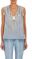 Etoile Isabel Marant Women's Judith Embellished Cotton Top