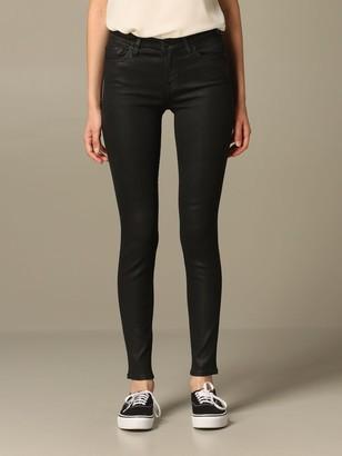 The Skinny Seven Seven Jeans In Coated Denim