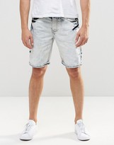 Loyalty And Faith Denim Short Bleach Out Wash
