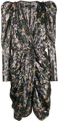 Isabel Marant Issolya structured shoulder dress