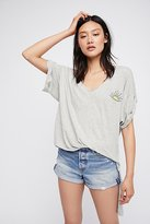 We The Free Shear Me Up Buttercup Tee by at Free People
