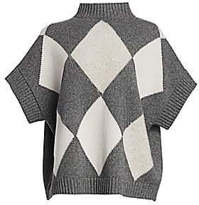 Fabiana Filippi Women's Argyle Cashmere Sweater