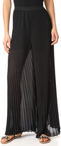 WAYF Banner Pleated Palazzo Pants