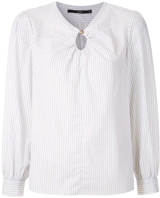 Eva Orvalho striped blouse
