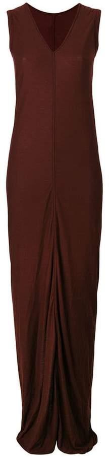 Rick Owens Lilies long V-neck dress