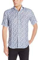 Bogosse Men's Mini D-Matis 63 Short Sleeve Button Down Shirt