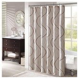 "Nobrand No Brand Fenice Embroidered Shower Curtain - Ivory (72""x72"")"