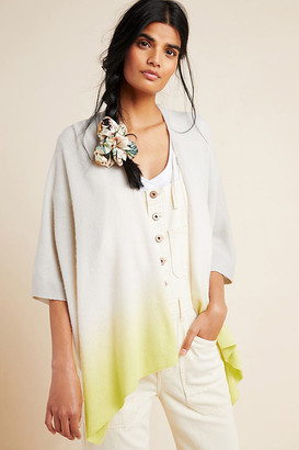 White + Warren Dip-Dyed Cashmere Cardigan By in Assorted Size XS/S
