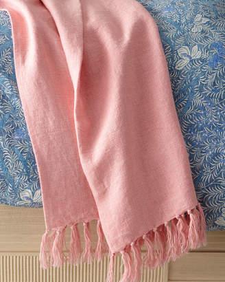 """Ralph Lauren Home Britt Throw Blanket, 54"""" x 72"""""""